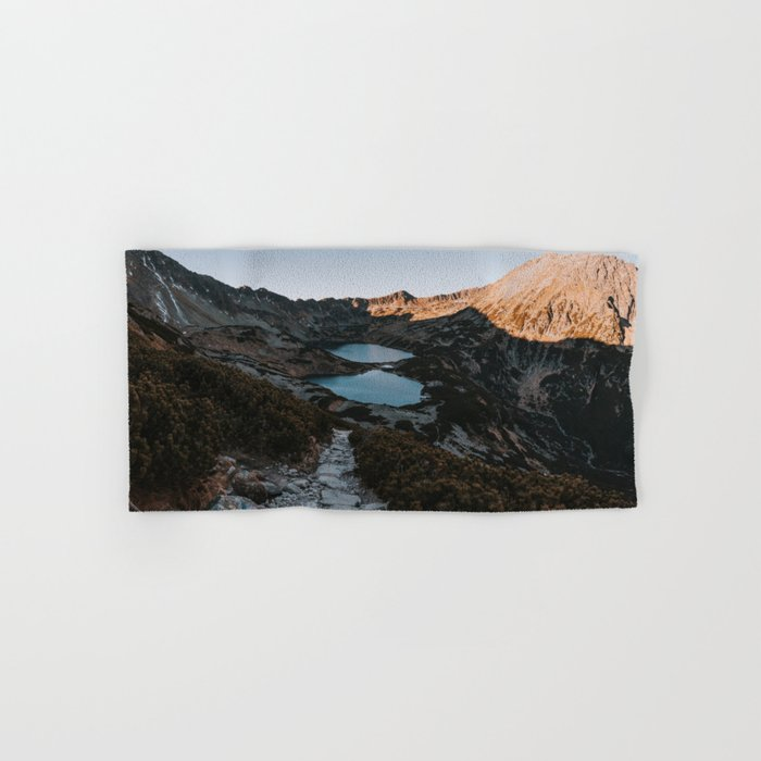 Mountain Ponds - Landscape and Nature Photography Hand & Bath Towel