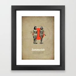 Summerish Framed Art Print