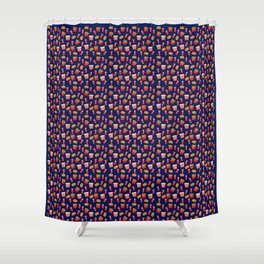 Fast food party Shower Curtain