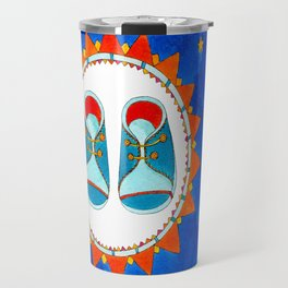 Little Boy Blue Boots #1 Travel Mug