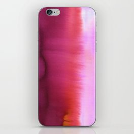 Flood Red iPhone Skin