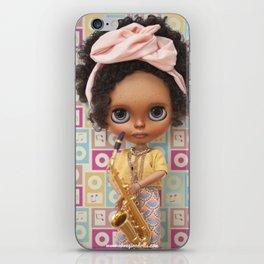 Saxo Time Blythe doll by Erregiro iPhone Skin