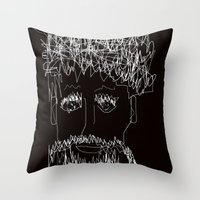 the who Throw Pillows featuring Who by sladja