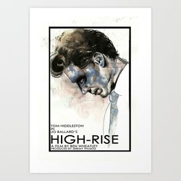 Tom Hiddleston in High-Rise Art Print