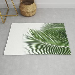 Delicate palms Rug