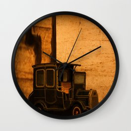 Lost Cars Two Wall Clock