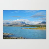 new zealand Canvas Prints featuring New Zealand by PeteJoey