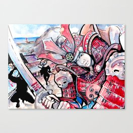Samurai Showdown Canvas Print