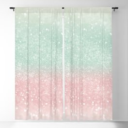 Pastel Summer Glitter #1 (Faux Glitter - Photography) #shiny #decor #art #society6 Blackout Curtain