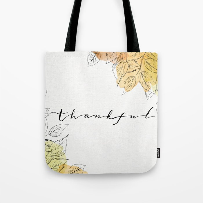THANKFUL LEAFS Tote Bag