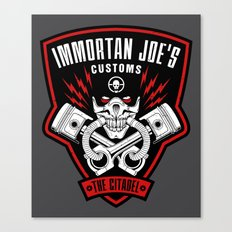 Immortan Joe's Customs Canvas Print