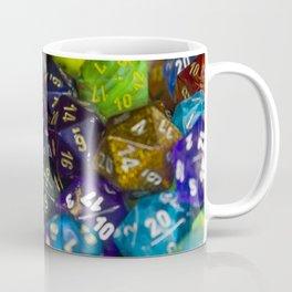 D&D Dice Rainbow Coffee Mug
