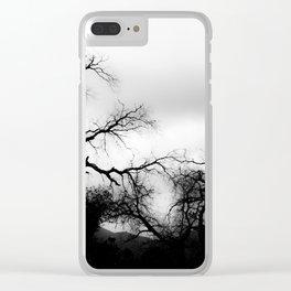 DARK FEEL Clear iPhone Case