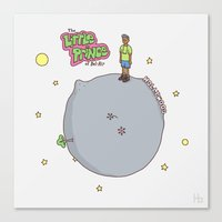 fresh prince Canvas Prints featuring Little Fresh Prince by Jaco Haasbroek