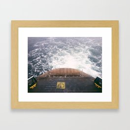 Ferry Framed Art Print