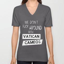 Vatican Cameos Unisex V-Neck