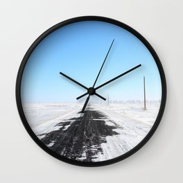 360 North Wall Clock
