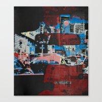 gotham Canvas Prints featuring Gotham by shaymultimedia