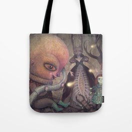 Welcoming the Omniscient Ones Tote Bag