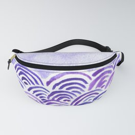 Seigaiha or seigainami literally means wave of the wave . japanese pattern Fanny Pack