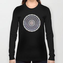 WARM WINTER MANDALA Long Sleeve T-shirt