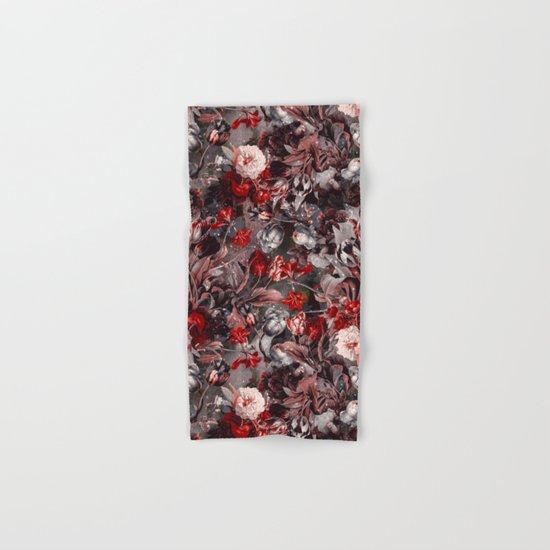 New Year's flowering night Hand & Bath Towel