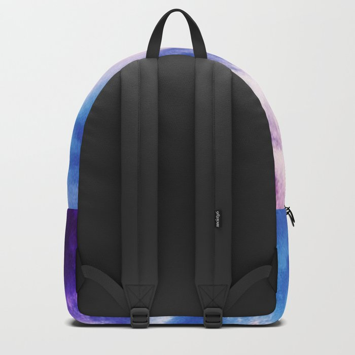 Cloudy shores Backpack