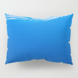 Blue Pillow Sham