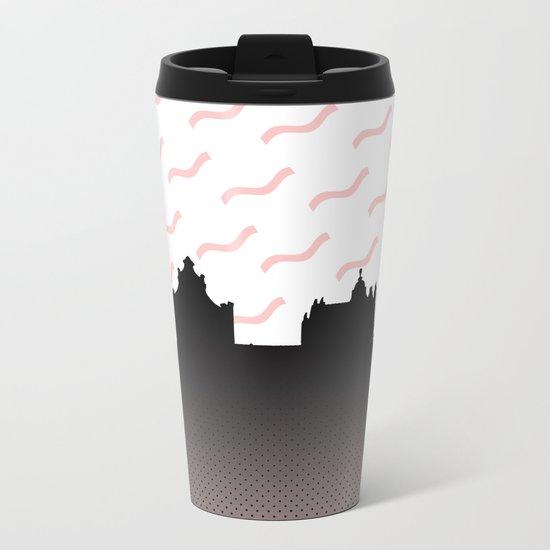 Cityline Design Metal Travel Mug