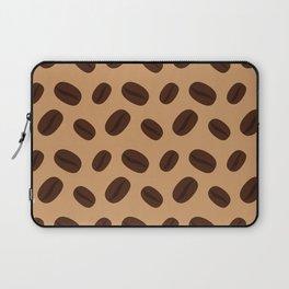 Cool Brown Coffee beans pattern Laptop Sleeve