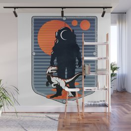 The Astronaut's Pet Wall Mural