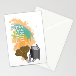 Fresh Tunes Stationery Cards