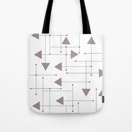 Lines & Arrows Tote Bag