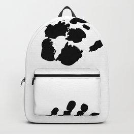Hands  Prints Backpack