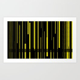 YellA=JacKeT Art Print