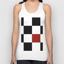 Checkerboard Unisex Tank Top