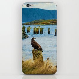 Young Eagle iPhone Skin