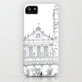 Basilica di Santa Cecilia in Trastevere iPhone Case