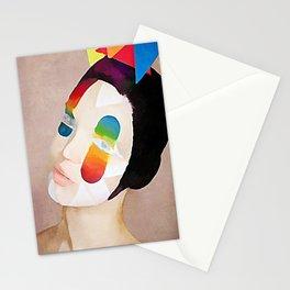 Roy G Biv - Kubistika by Boris Draschoff Stationery Cards