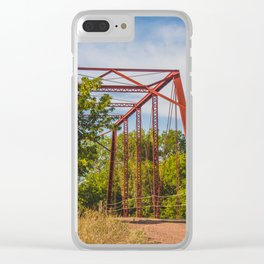 Stephens Bridge, North Dakota, 3 Clear iPhone Case