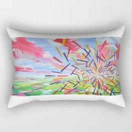 Quantum Phenomenon Rectangular Pillow
