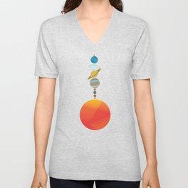 Solar System 2 Unisex V-Neck