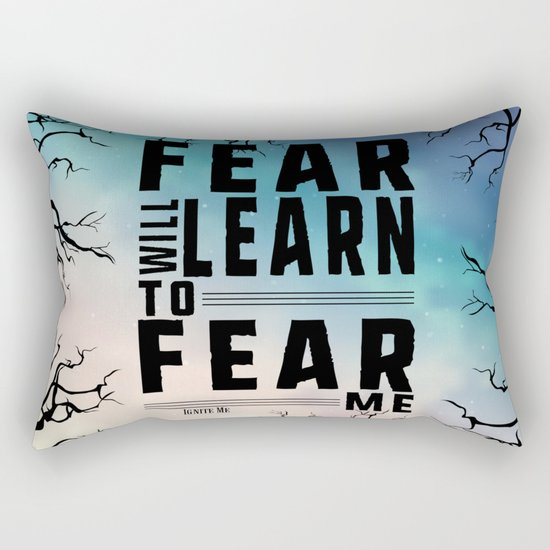 Shatter Me - Fear Rectangular Pillow