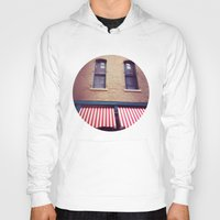 memphis Hoodies featuring Memphis Wall by wendygray