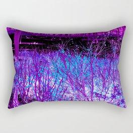 Purple Berry Rectangular Pillow