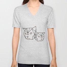Cool cats Unisex V-Neck