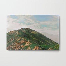 Mountain Adventure - Mt. Shibutsu, Japan Metal Print