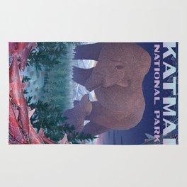 Katmai National Park Rug