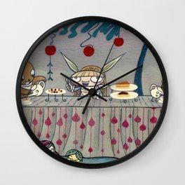 Mad Tea Party Wall Clock