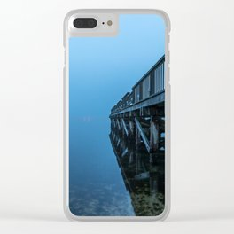 Day Starts Go Clear iPhone Case